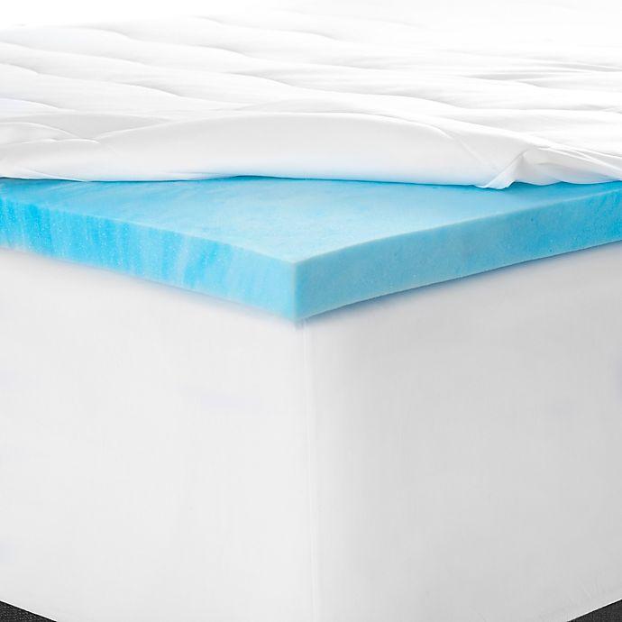 Alternate image 1 for Therapedic® SleepRX™ Memory Foam Mattress Topper