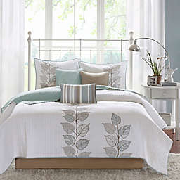 Madison Park Caelie 6-Piece Reversible Coverlet Set