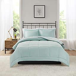 Madison Park Microcell Down Alternative King/California King Comforter Set in Seafoam