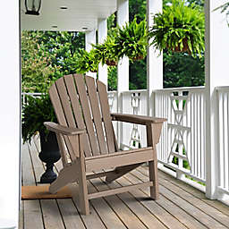 Weather-Resistant Adirondack Chair