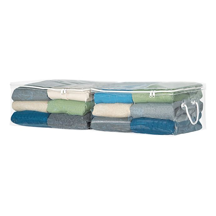 Alternate image 1 for Simply Essential™ Sweater Storage Bags (Set of 2)