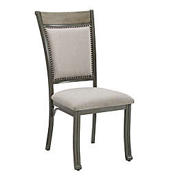 Long Bridge Side Chairs in Grey (Set of 2)