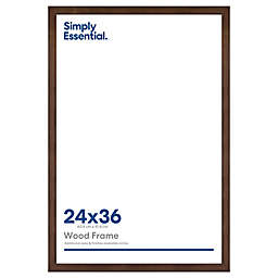 Simply Essential™ Gallery Wall 24-Inch x 36-Inch Wood Picture Frame in Walnut