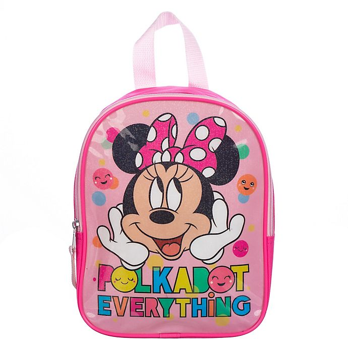 Alternate image 1 for Disney® Minnie Mouse Mini Backpack in Pink