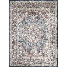 Saxon 7'10 x 9'10 Area Rug in Blue/Multi