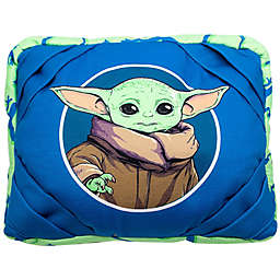 Star Wars™ The Mandalorian™ Baby Yoda and Frog Tablet Pillow