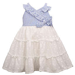 Bonnie Baby Lace Dress in Pink/Blue