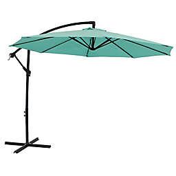 Sunnydaze Decor 9.59-Foot Octagon Offset Patio Umbrella