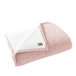 UGG® Melange Classic Sherpa Throw Blanket in Quartz