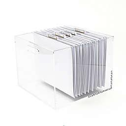 Russell + Hazel® Acrylic File Box