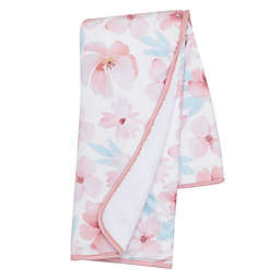 Lambs & Ivy® Girls Rule the World Sherpa Blanket in Pink