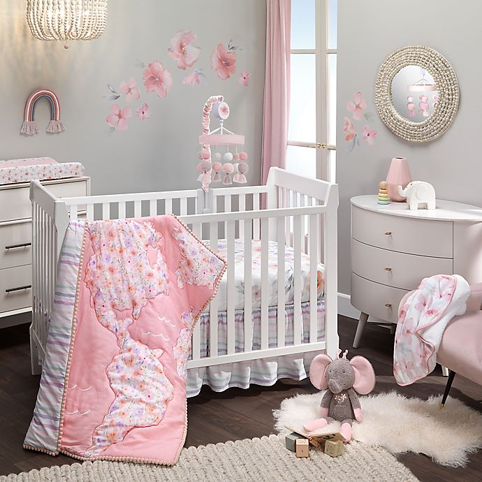 Alternate image 1 for Lambs & Ivy® Girls Rule the World Crib Bedding Collection