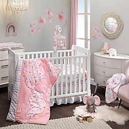 Lambs & Ivy® Girls Rule the World 4-Piece Crib Bedding Set in Pink