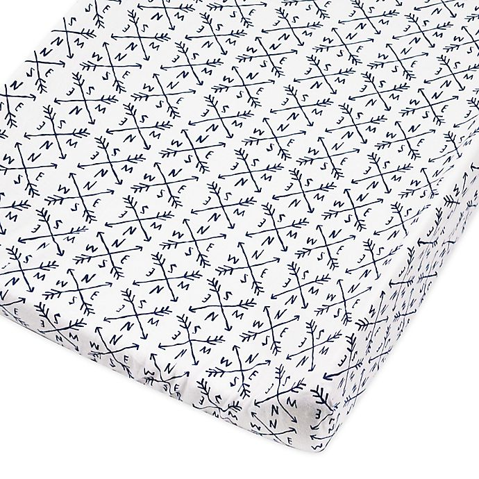 Alternate image 1 for The Honest Company® Compass Organic Cotton Changing Pad Cover