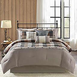 MP® Ridge Herringbone 7pcs K Comforter Set N