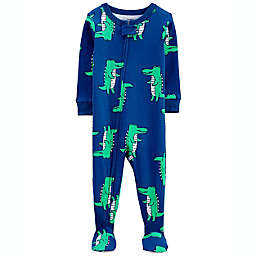 carter's® Alligator Footie in Blue