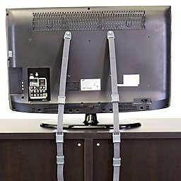 Qdos Anti-Tip TV Kit in Grey