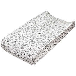 The Honest Company® 2-Pack Organic Cotton Changing Pad Covers in Black/Skulls