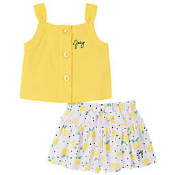 Juicy Couture® Lemons 2-Piece Short Set in Yellow