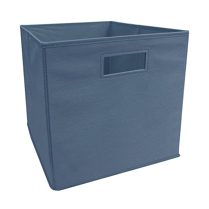 Alternate image 1 for ORG™ 13-Inch Blue Horizon Collapsible Storage Bin in Blue