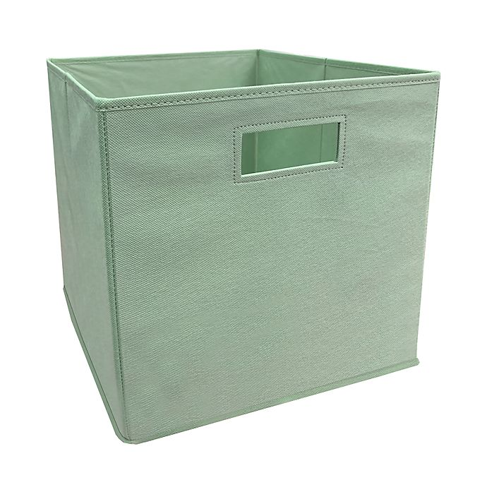 Alternate image 1 for ORG™ 13-Inch Bock Choy Collapsible Storage Bin in Sage