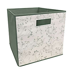 ORG™ 13-Inch Willows Collapsible Storage Bin in Sage