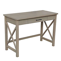 Bee & Willow™ Crossey Desk in Light Natural