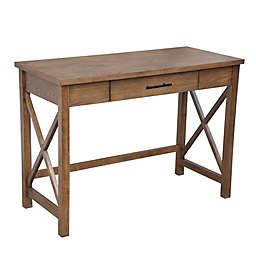 Bee & Willow™ Crossey Desk in Walnut