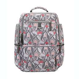 Bananafish Kai Backpack Diaper Bag in Pink