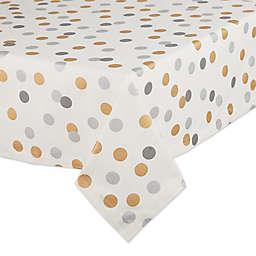 DII® Confetti Tablecloth in Metallic