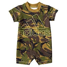 adidas® Shortie Camo Print Cotton Romper
