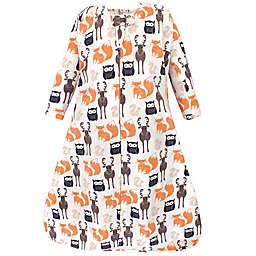 Hudson Baby® Size 0-6M Forest Long Sleeve Wearable Blanket in Orange
