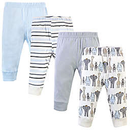 Hudson Baby® 4-Pack Safari Pants in Royal Blue
