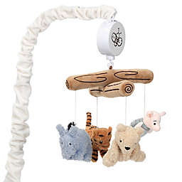 Lambs & Ivy® Storytime Pooh Musical Crib Mobile in White