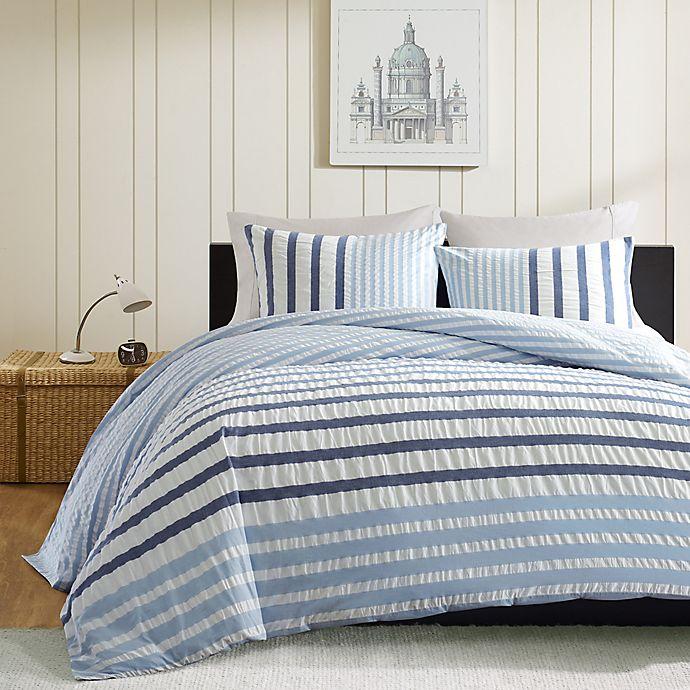 Alternate image 1 for INK+IVY Sutton Duvet Cover Set in Blue
