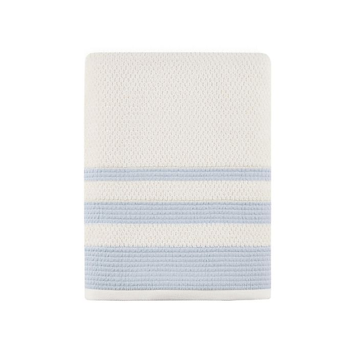 Alternate image 1 for Bee & Willow™ Home Triple Stripe Bath Towel