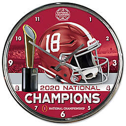 University of Alabama 2020 College Football Playoff National Championship Wall Clock
