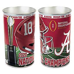 University of Alabama 2020 College Football Playoff National Championship Metal Wastebasket