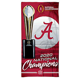 University of Alabama 2020 College Football Playoff National Championship Beach Towel