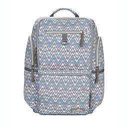 Bananafish Dakota Backpack Diaper Bag in Grey