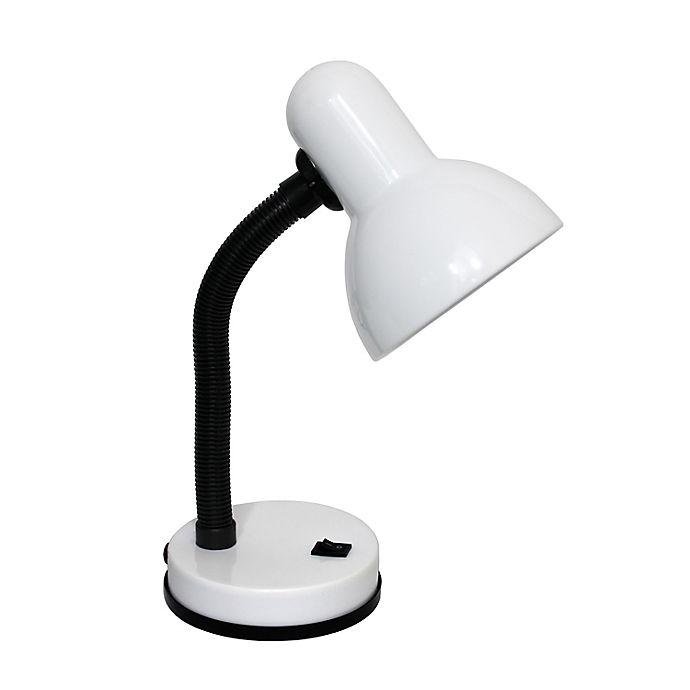 Alternate image 1 for Simple Designs Flexible Hose Desk Lamp