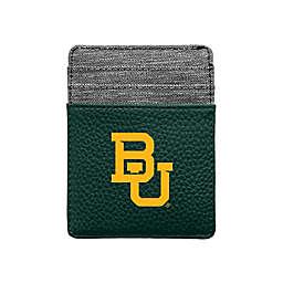 Baylor University Pebble Front Pocket Wallet