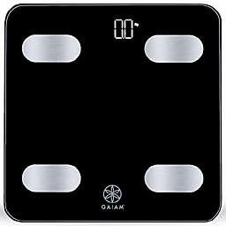 Gaiam® Bluetooth® Smart Bathroom Scale in Black