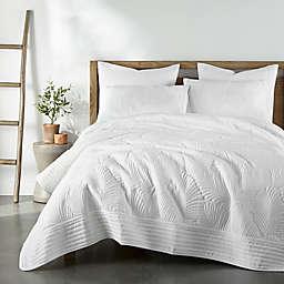 Levtex Home Belgrade Reversible Full/Queen Quilt in White