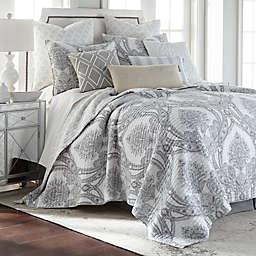 Levtex Home Novara 3-Piece Reversible King Quilt Set in Grey