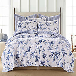 Levtex Home Avellino Reversible Twin Quilt in Blue