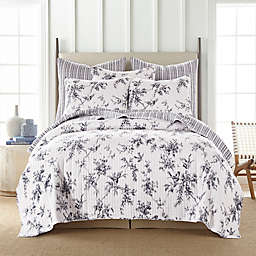 Levtex Home Avellino Reversible King Quilt in Grey