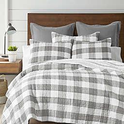 Levtex Home Camden 3-Piece Reversible King Bedspread Set in Grey