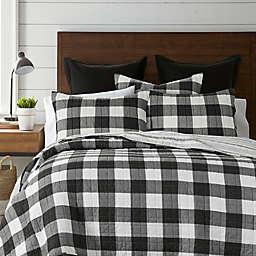 Levtex Home Camden 3-Piece Reversible Full Bedspread Set in Black
