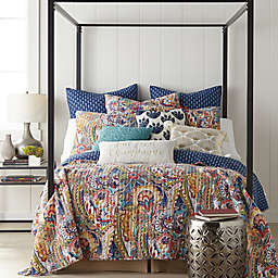 Levtex Home Nanette 2-Piece Reversible Twin Quilt Set in Navy